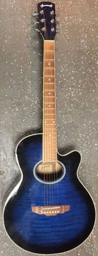 Rare Brownsville Acoustic Electric Guitar