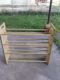 brown wooden rack Augusta, 30906