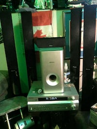 green and black home theater system Calgary, T1Y 7M8