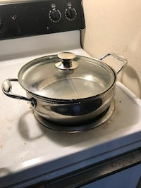 3- 4 inch deep stainless steel Pot Omaha, 68102