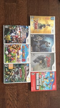 Wii game collection Toronto, M5R 3H7