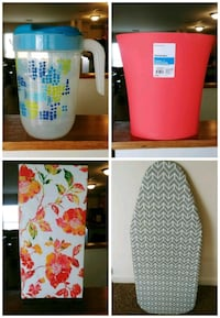 pink and white floral ceramic vase collage 93 mi