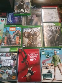assorted Xbox 360 game cases Lincolnton, 28092