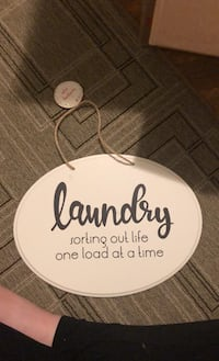 Wooden Laundry sign Grand Rapids, 49507