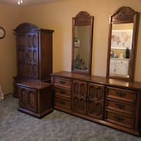 Bedroom set. Solid wood. Great condition Modesto, 95358