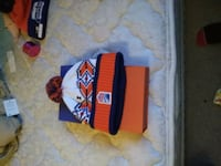 white, orange, and blue bobble hat Edmonton, T5H 1T7