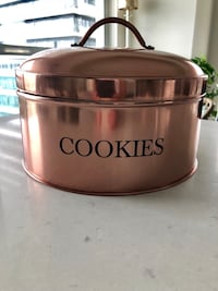 Rose Gold Cookie Jar Toronto, M8V 1A1