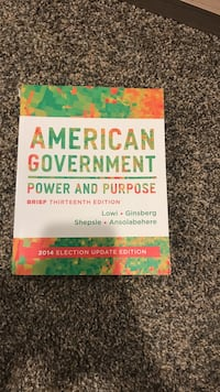 American government textbook Liberty Twp, 45011