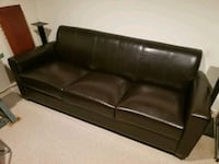 3 Seater Pleather couch for sale  Vaughan, L4J 5M6