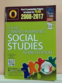 2008 - 2017 O Level Combined Humanities Social Studies Yearly Edition Hougang, 530971
