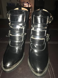 Jeffrey Campbell Hyatt ankle boots size 7.5 worn twice