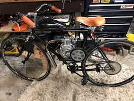 4 stroke motorized bicycle