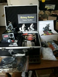 Tattoo kit,  with case,50 needles,55 inks,50 tips Grand Prairie, 75050