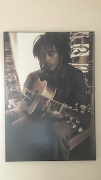 Wooden canvas picture of Bob Marley 32 x 22 willing to best offer El Centro, 92243