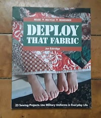 Deploy that Fabric: 23 Sewing Projects Use Military Uniforms in Everyd Martinsburg, WV, USA, 25401
