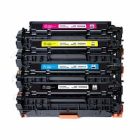 4PK Canon  [PHONE NUMBER HIDDEN]  [PHONE NUMBER HIDDEN]  [PHONE NUMBER HIDDEN] ) New Compatible Toner Cartridges Colour Combo Set (High Yield)