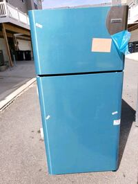 blue top-mount refrigerator Lanham, 20706