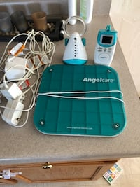 Angel care baby monitor with breathing sensor pad Wrightstown, 54180