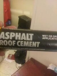 Roof cement. New never used 1126 mi