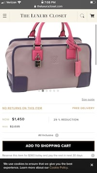 Loewe Brand Purse Authentic Brownsville, 78520