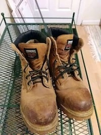 Timberland Pro Steel toe boots size 13 wide