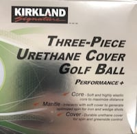 24 pack three-piece golf ball (new) Central Elgin