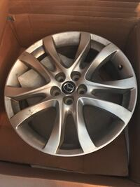 Four rims used but in good condition.  Silver Spring, 20906