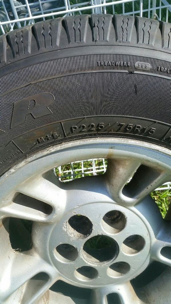 gray car wheel with tire