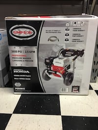 SIMPSON PowerShot 3600-PSI 2.5-GPM Cold Water Pressure Washer CARB with Honda Engine  Roanoke, 24012