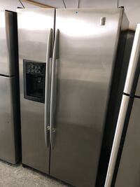 Refurbished good condition stainless steel refrigerator  Woodbridge, 22191