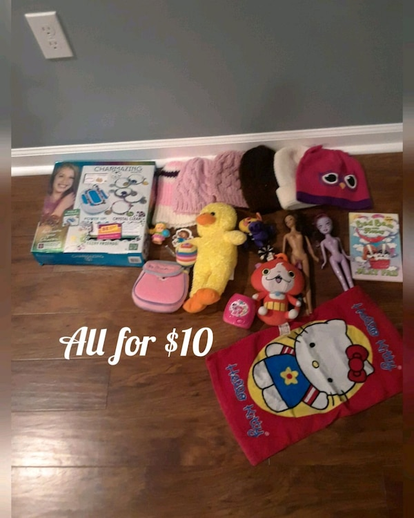 for girl all for $ 10