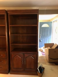 3 Cherry shelving /storage units PITTSBURGH