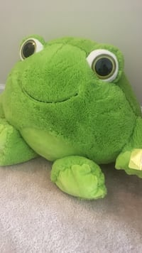 Green frog plush toy Springfield, 22153