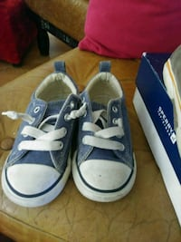 pair of blue Converse All Star low-top sneakers Long Beach, 90802