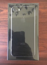 Jet Black IPhone 7 32 GB - SEALED AND UNLOCKED Calgary, T2V 0Z3
