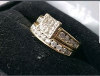 Kay Jewelers bridal ring set with band 14ct gold Douglasville, 30134