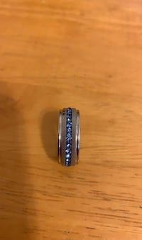 New titanium steel band ring