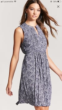 women's gray and black sleeveless dress Woodbridge, 22191