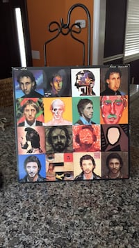 The Who album with poster inside