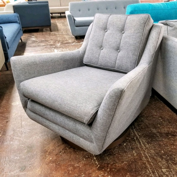 Marvelous Mid Century Modern Mcm Swivel Accent Chair Joy Home Interior And Landscaping Mentranervesignezvosmurscom