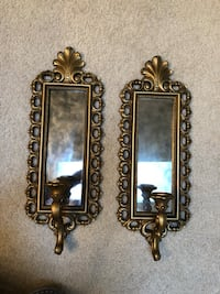 Gilt Sconces (2) Springfield, 22151