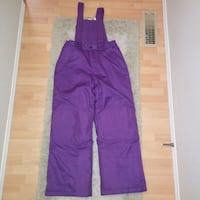 Like new: medium 10-12 kids snow ski snowboard pants  Two side zip poc Edmonton, T6X 1J9
