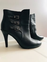 Black Leather Boots - Size 9 Toronto, M1W 1H9