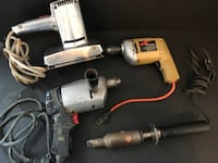 Lot of 4 power tools. All work. Price is for all. OOS  Hanover, 17331