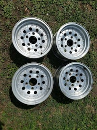 15 inch by 8 inch wide half ton Ford pickup wheels Patton, 63662