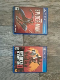 Red Dead Redemption and Spider-Man PS4 -$70 4 both Vancouver, 98682
