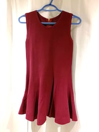 women's red sleeveless dress Toronto, M1T 3H3
