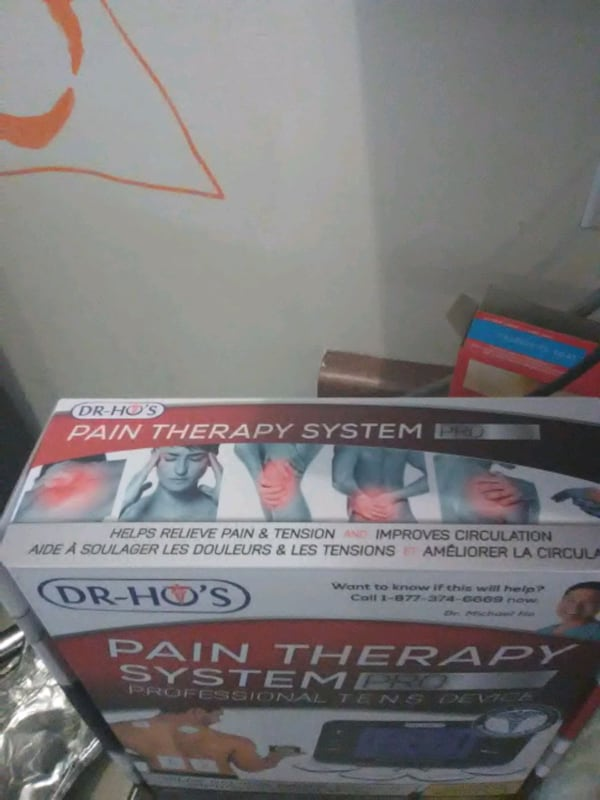 Dr Ho's pain therapy system pro professional T.E.N.S DEVICE 62980f25-d0b1-4b5f-9bcd-1476e36b3bac