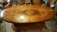 brown wooden round table with chairs North Providence, 02904