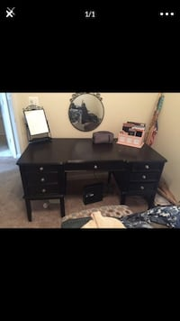 Solid wood entertainment center, book shelf and desk Alexandria, 22303